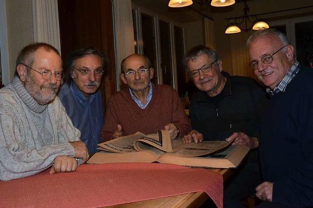 Fünf Redakteure, 170 Jahre BZ-Erfahrung: Wie in Bad Säckingen Zeitung gemacht wurde - und wird