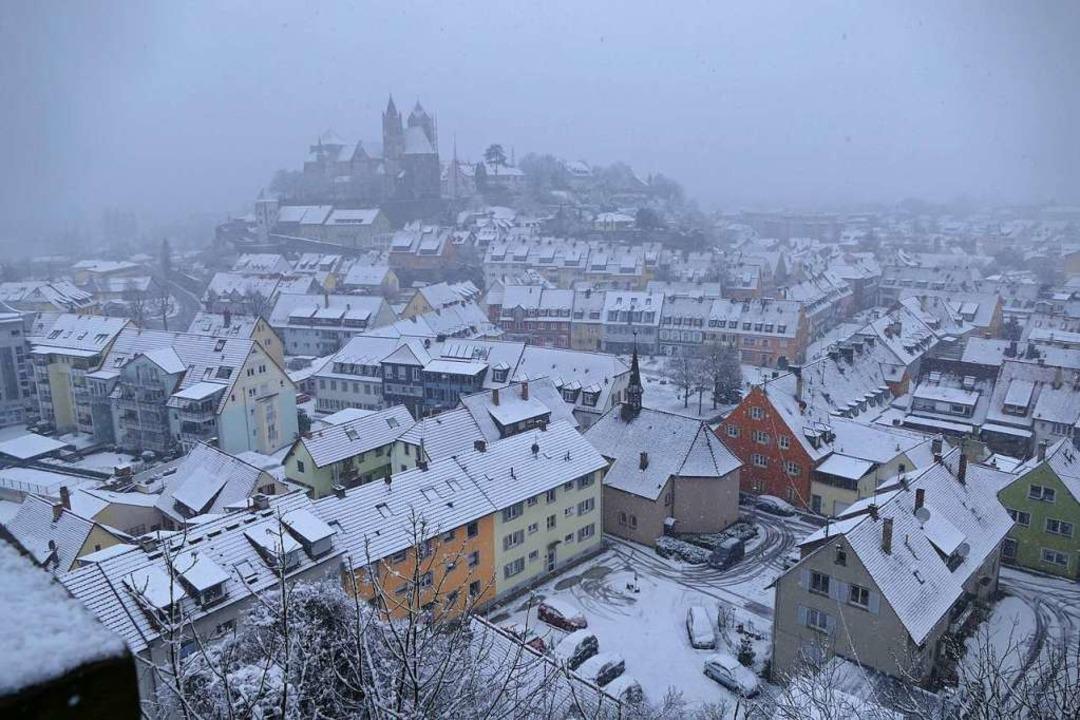 Fast 11000 Menschen lebten Ende 2020 in der Breisacher Kernstadt.    Foto: Thomas Rhenisch