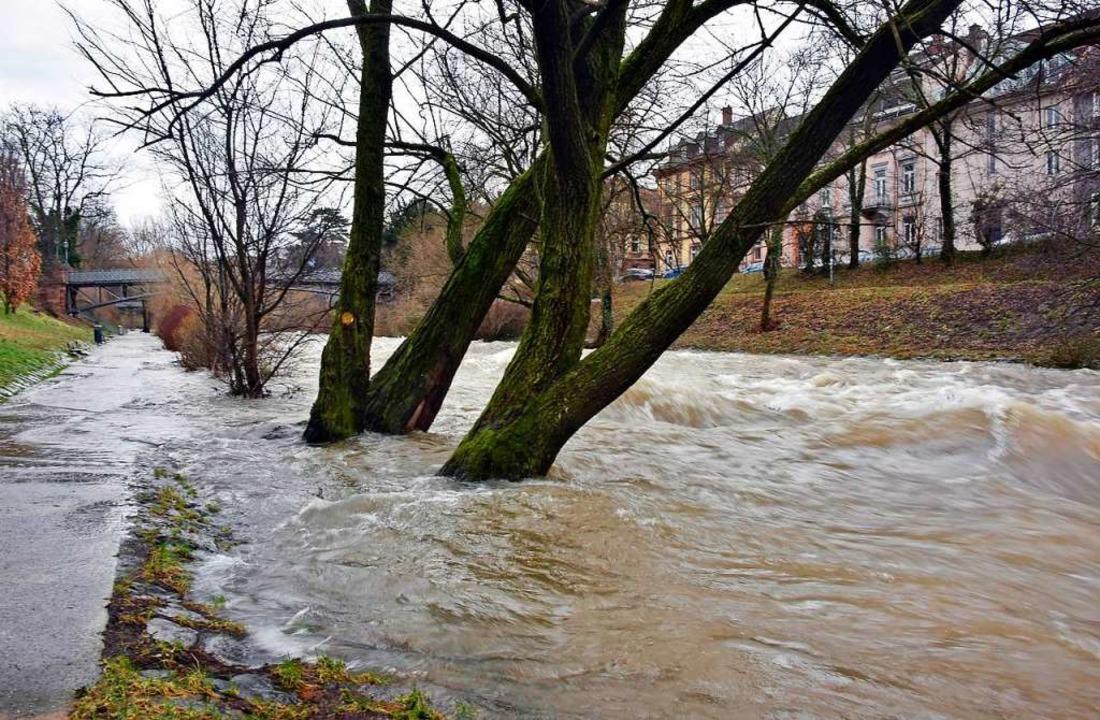 Die Flüsse führen  zurzeit viel Wasser (Symbolbild).  | Foto: Michael Bamberger