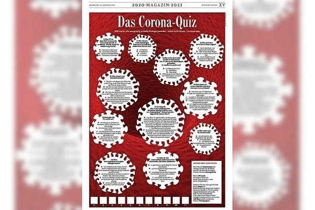 CORONA-QUIZ: Von Naherholung und Gewinnern