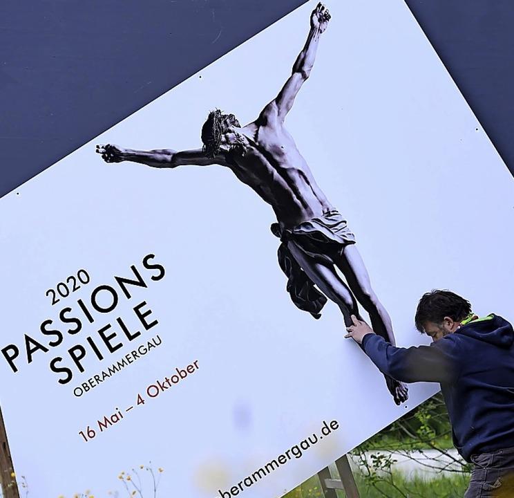 Abgesagt: Passionsspiele 2020  | Foto: Angelika Warmuth (dpa)