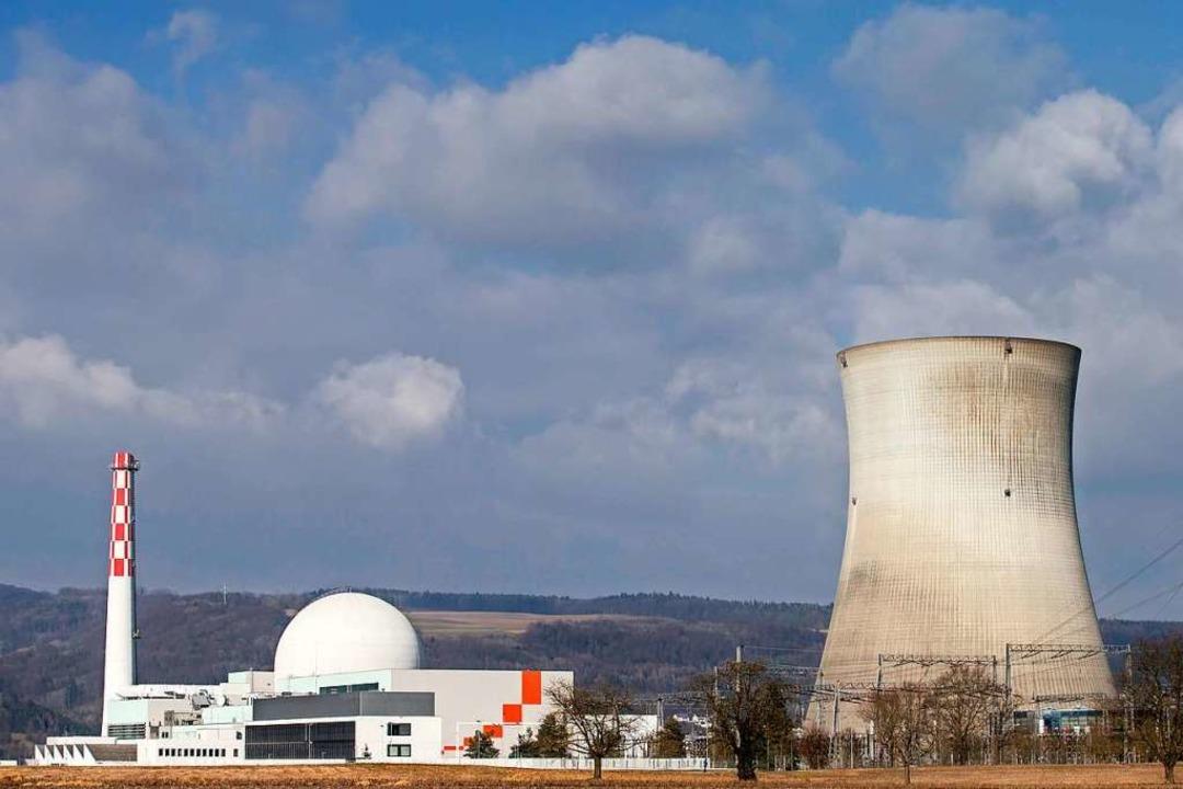 Das Atomkraftwerk Leibstadt  | Foto: Alexandra Wey (dpa)