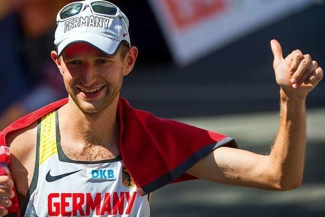 Geher Carl Dohmann strebt seine zweite Olympia-Teilnahme an