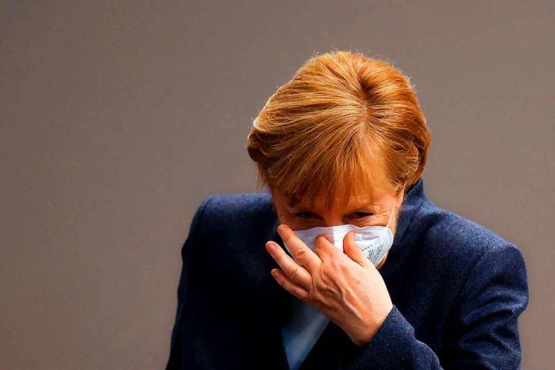 Bundeskanzlerin Angela Merkel    Foto: ODD ANDERSEN (AFP)