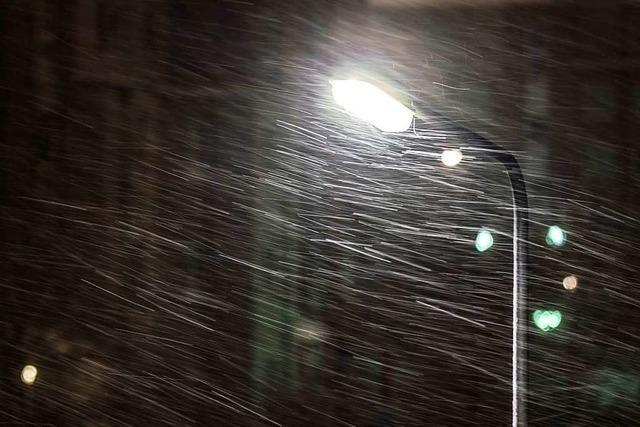 Sollten Gemeinden nachts das Licht abschalten?