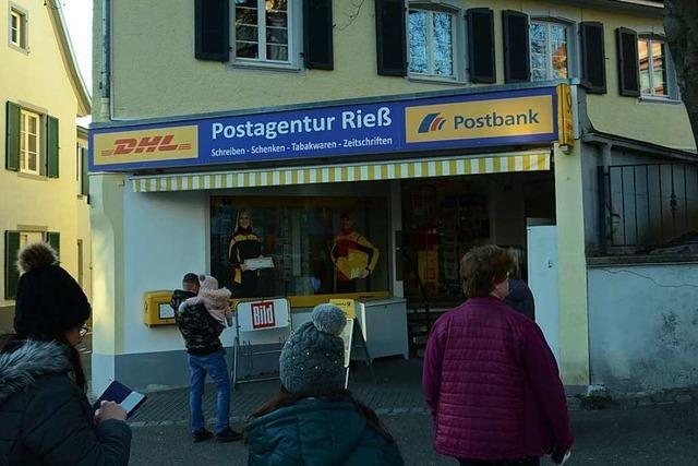 Die Nachfolge für die Postagentur in Kandern ist gesichert