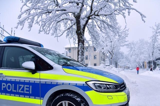 72-Jährige wird bei Lörrach von einem umstürzenden Baum getroffen und stirbt