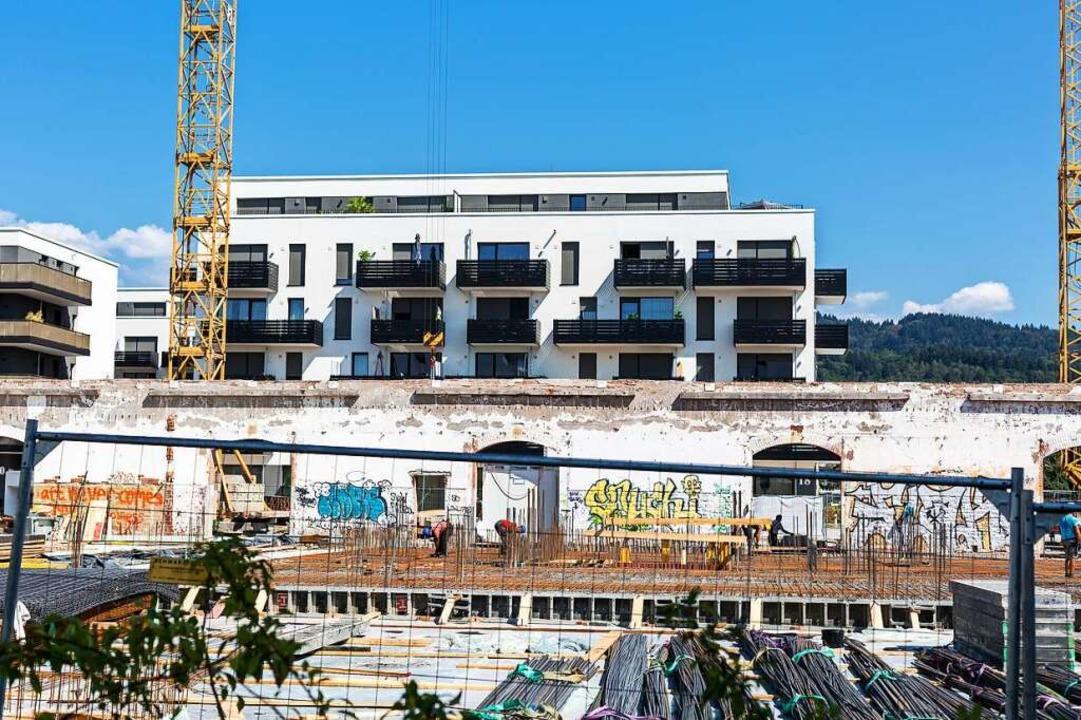 Das Baugewerbe konnte sich mit einer Steigerung behaupten.  | Foto: Carlotta Huber
