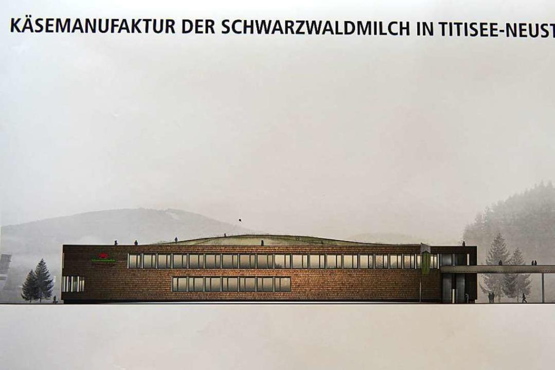 Über eine Plattform sollen Besucher vo...bühl kommend in das  Gebäude gelangen.  | Foto: Fuchs Maucher Architekten