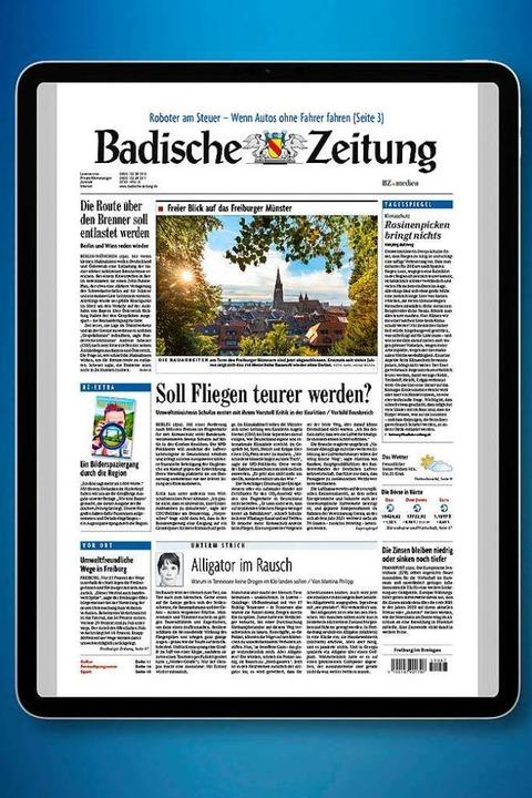 Aktuell und nutzerfreundlich: die BZ-AppBZ  | Foto: Badische Zeitung