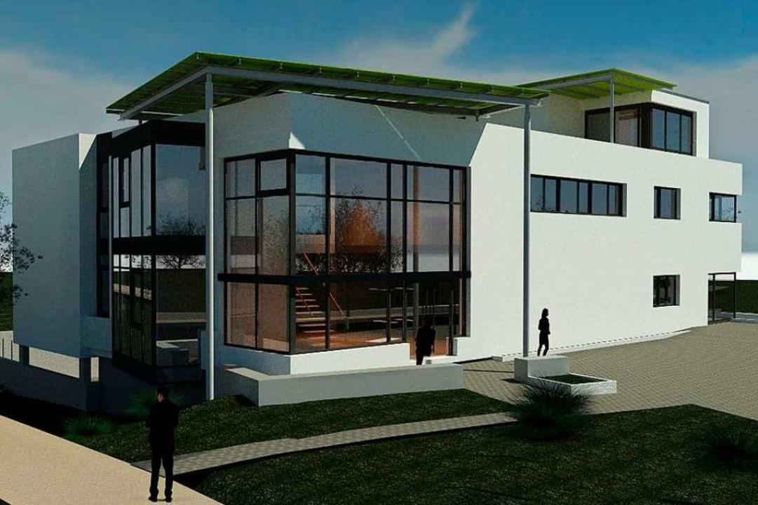 So soll die Erweiterung aussehen.    Foto: Keienburg Architekten