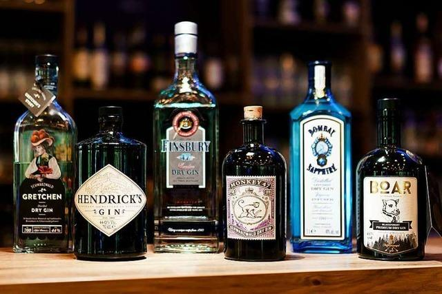 Verkosten Sie internationale und regionale Gins!
