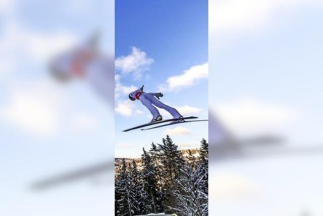 Jetzt kommen die Skispringerinnen