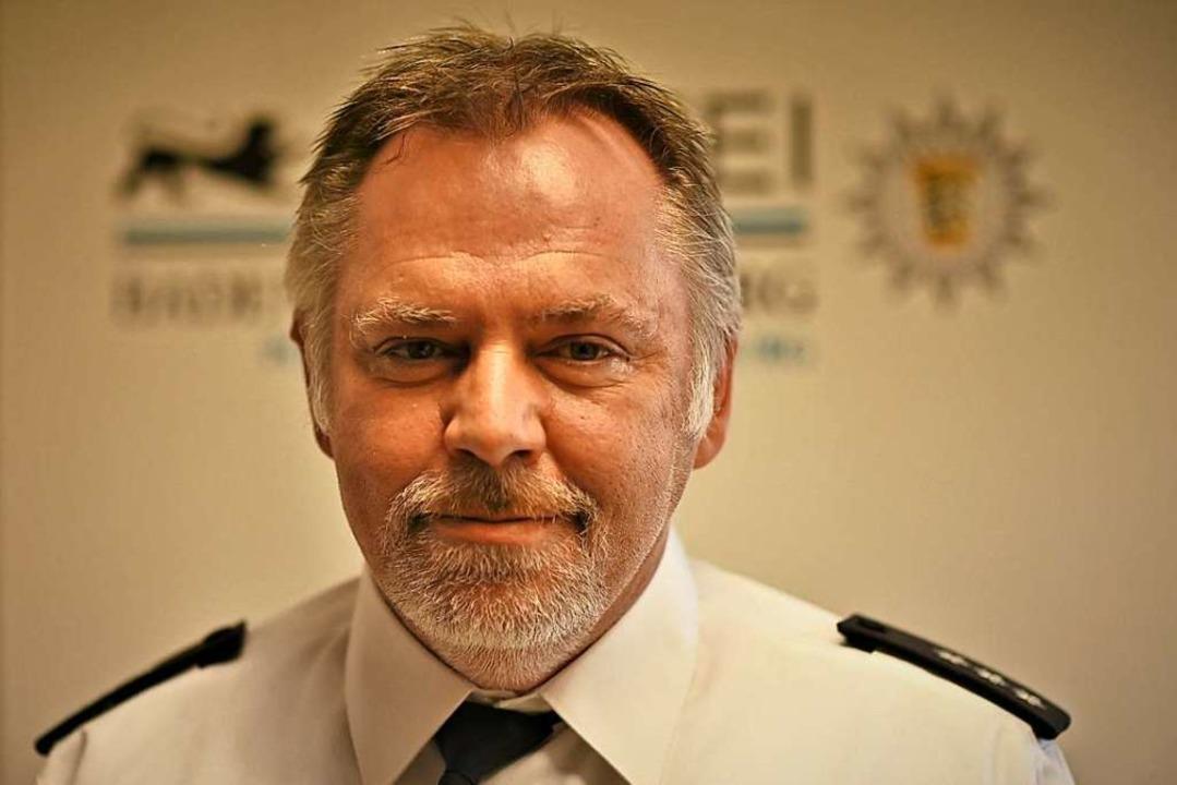 Polizeisprecher Thomas Batzel  | Foto: Jonas Hirt