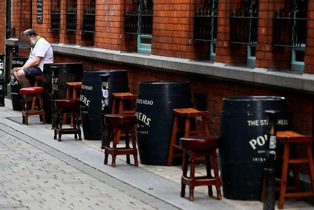 In Irland breitet sich das Virus rasant aus