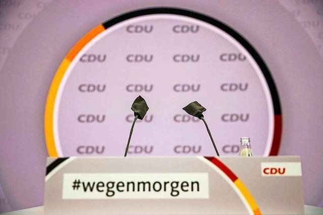 Wahl des CDU-Parteichefs: Drei Männer, drei Szenarien