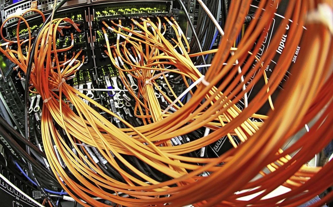 Mit der Entscheidung des Landes hat We...Ausbau des Breitbandnetzes anbelangt.   | Foto: Jan Woitas