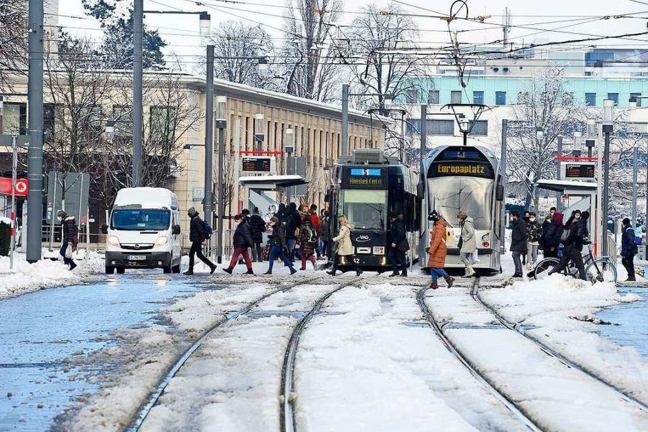 Bahn frei für die Linie 5 (Foto: Ingo Schneider)