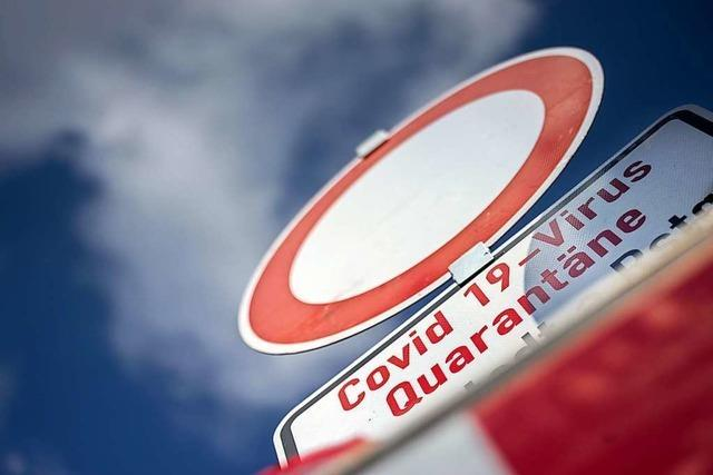 Bei Kontrollen im ganzen Stadtgebiet werden Verstöße gegen Quarantäneregeln festgestellt