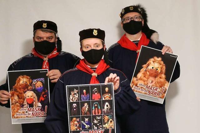 Narrenzünfte im Schuttertal starten Plakataktion fürs Maskentragen
