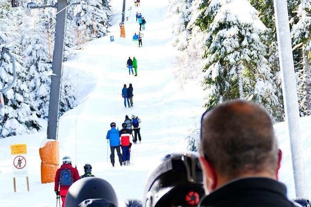 Das Winterwetter lockt, doch Skikurse und Ausflüge fallen aus