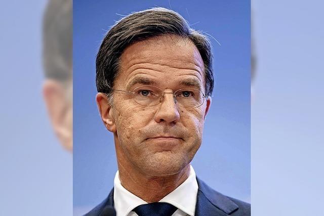 Niederländische Regierung tritt zurück