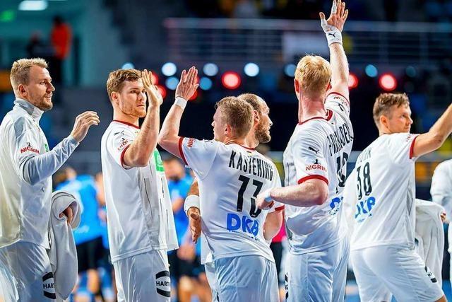 Deutsches Team startet mit Kantersieg in die Handball-WM