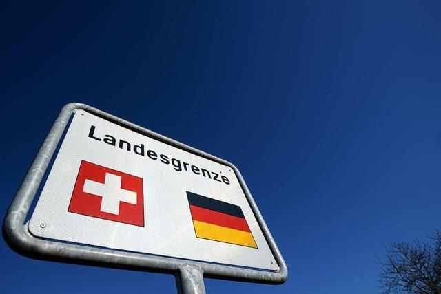 Spaziergänge über Grenze zur Schweiz sind weiter möglich