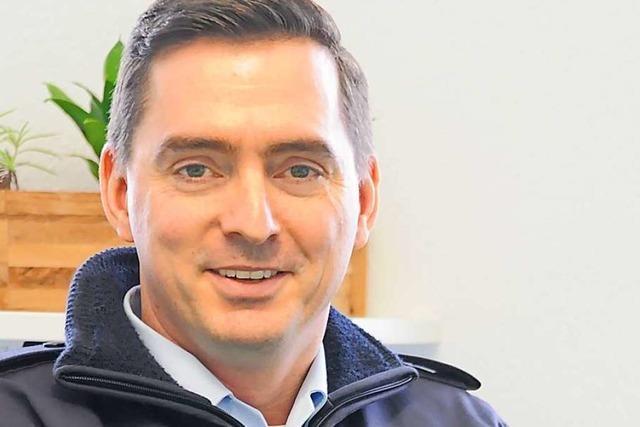 Vom Praktikanten zum Boss: Emmendingen hat einen neuen Polizei-Chef