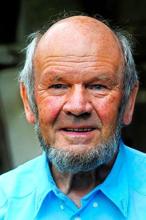 Klaus Poppen 2011: Jetzt ist er mit 89 Jahren verstorben.  | Foto: Thomas Kunz