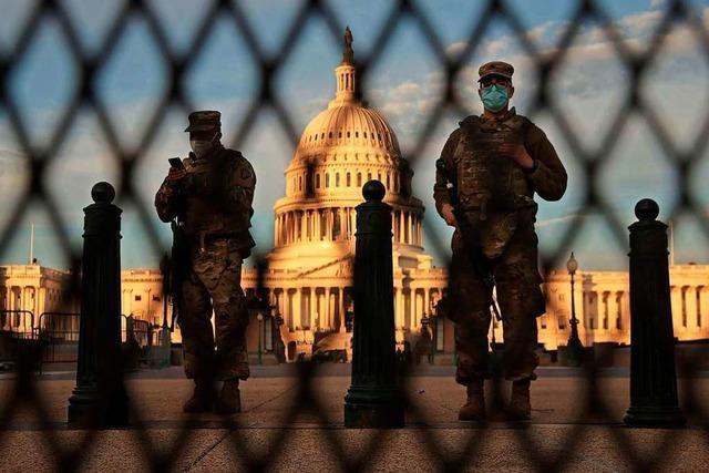 Washington wird zur Amtseinführung von Joe Biden zur Festung