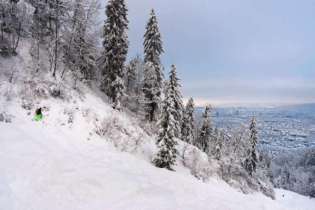 Starker Schneefall in der Schweiz: Zwei Tote bei Lawinenabgängen