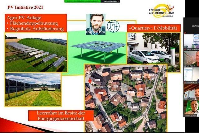 Hägelberger wollen mit Agro-Photovoltaik Strom auf Feldern ernten