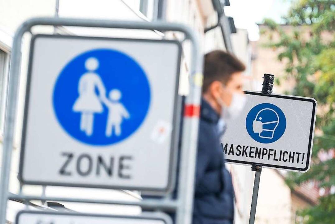 Jürgen Scheiding fordert die disziplinierte Einhaltung der Corona-Regeln.  | Foto: Sebastian Gollnow (dpa)