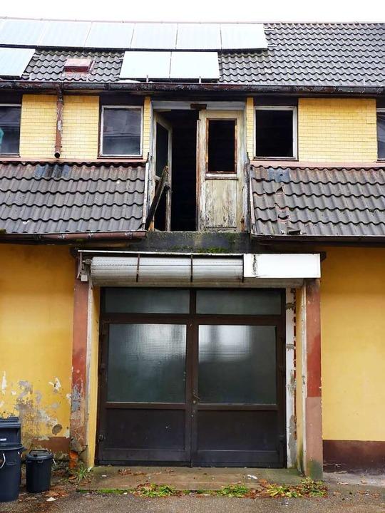 Hier wurde seit Jahrzehnten nicht mehr...f die Photovoltaikanlage auf dem Dach.  | Foto: sattelberger