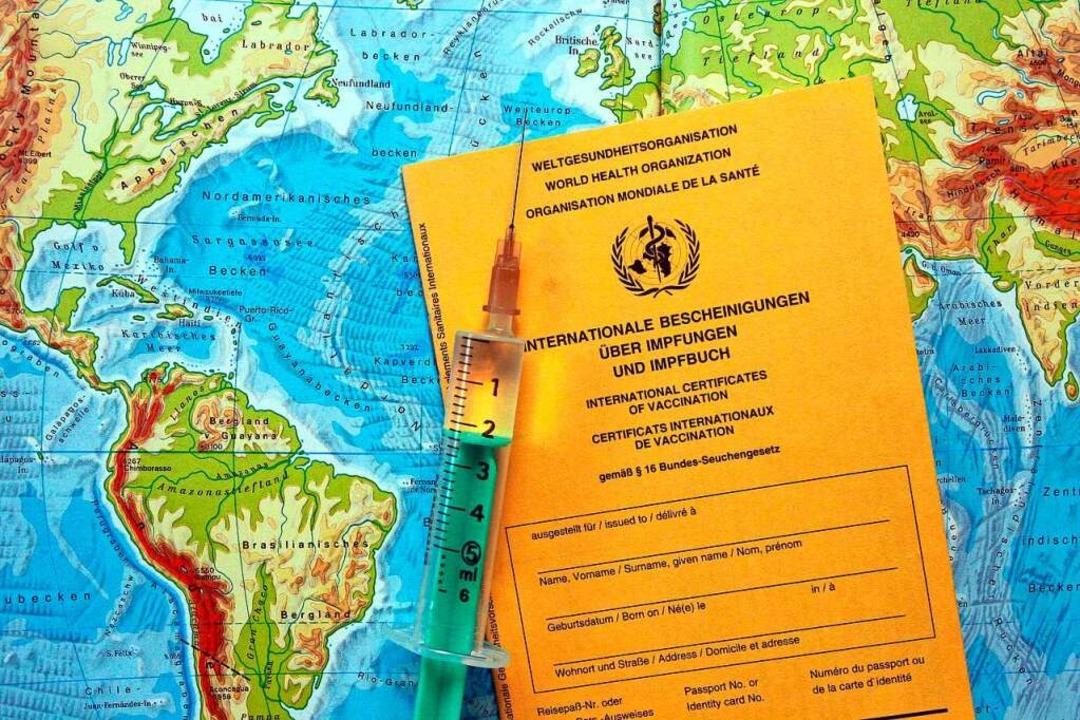 Schon jetzt gibt es in manchen Ländern...nde – wie etwa gegen Gelbfieber.  | Foto: imago/suedraumfoto