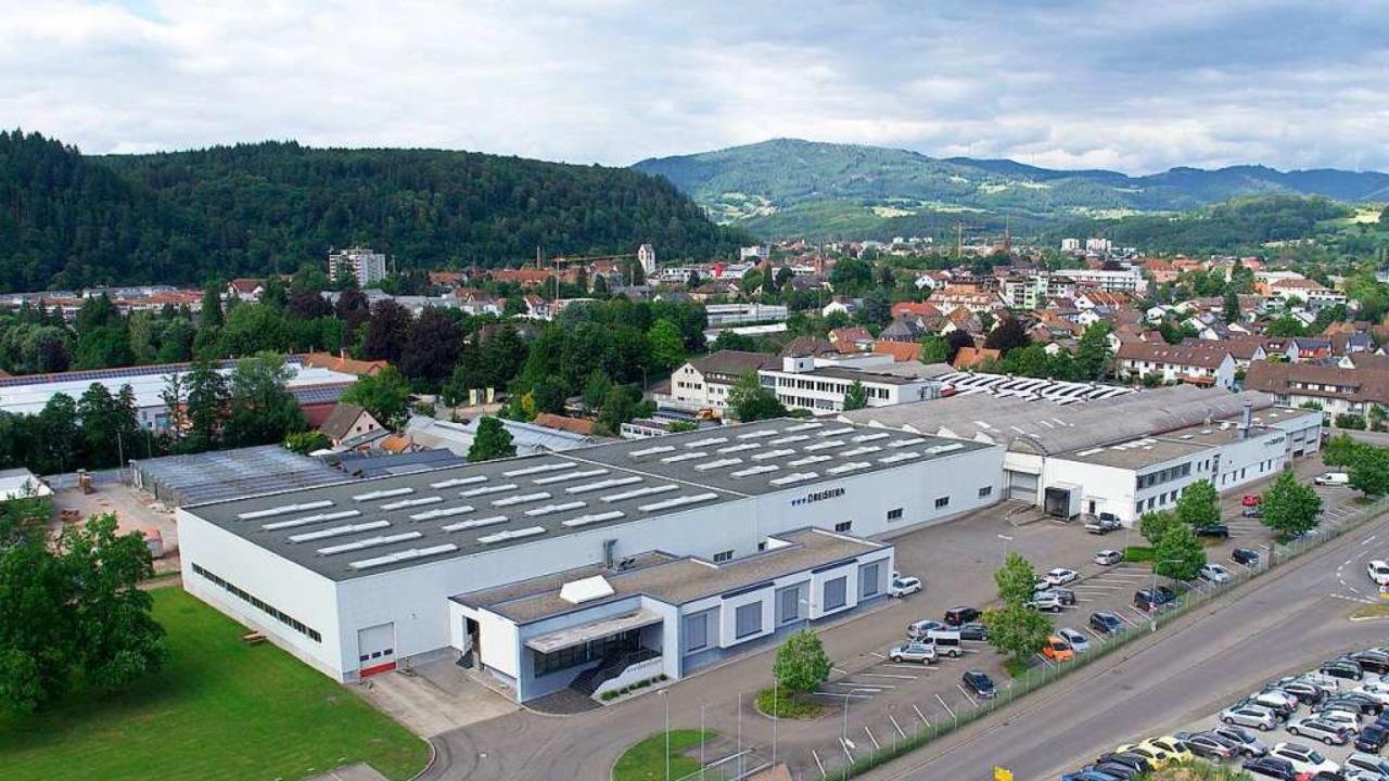 Das Dreistern-Werk liegt am südwestlichen Stadtrand Schopfheims.  | Foto: Privat