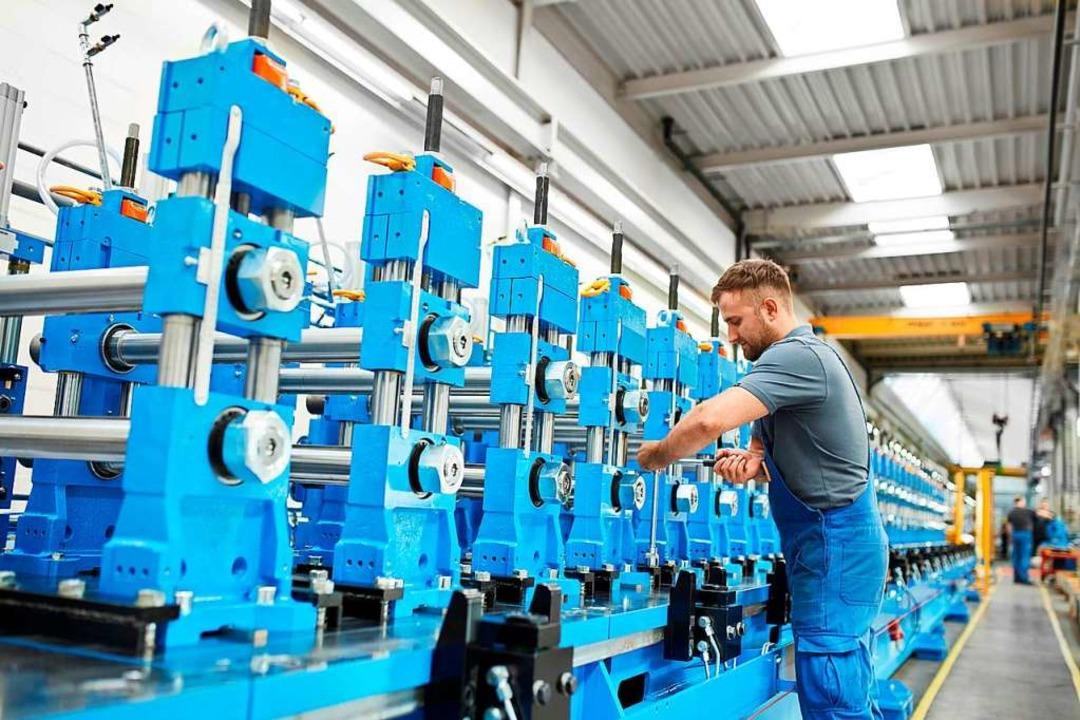 In den Werkhallen werden Profiliermaschinen hergestellt und weltweit vertrieben.  | Foto: Privat