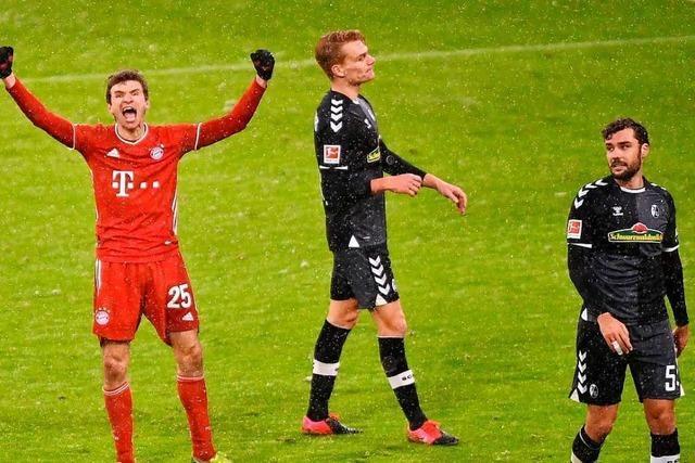 SC Freiburg schrammt in München knapp am Punktgewinn vorbei