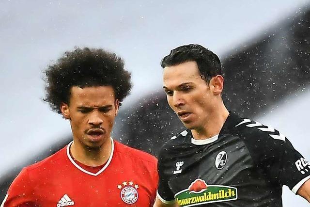 Nicolas Höfler ist bei der 1:2-Niederlage in München Freiburgs bester Mann