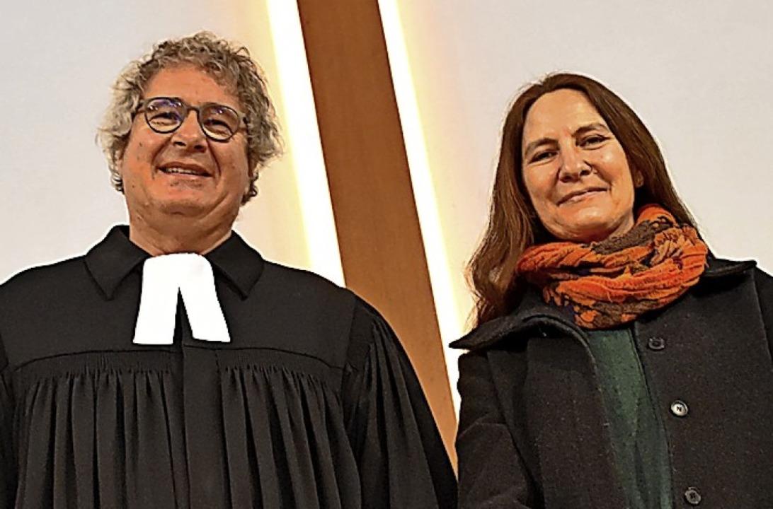 Pfarrer Martin Rathgeber und Gattin Fr...ehr und werden sich in Murg ansiedeln.  | Foto: Hrvoje Miloslavic