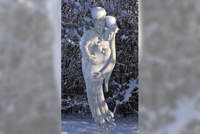 Schneekönigin und Schneekönig