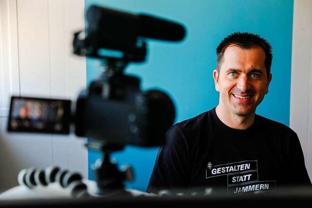 Marketing-Unternehmer Armin Ruser ist der Krise kreativ begegnet
