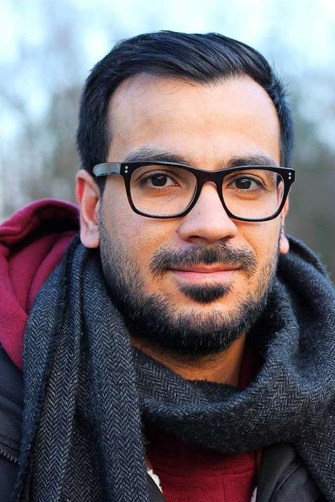 Emad Mohammad ein ein Stipendium erhalten.  | Foto: Erika Sieberts