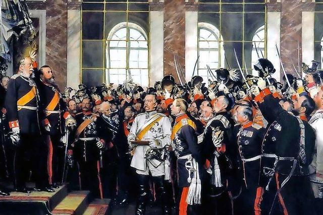 Gründung des Kaiserreichs einte Deutschland zum Nationalstaat