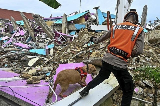 Das Beben weckt die Tsunami-Angst
