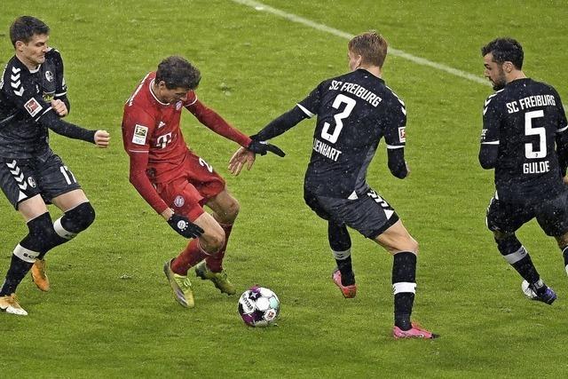 SC verliert beim FC Bayern knapp – 1:2