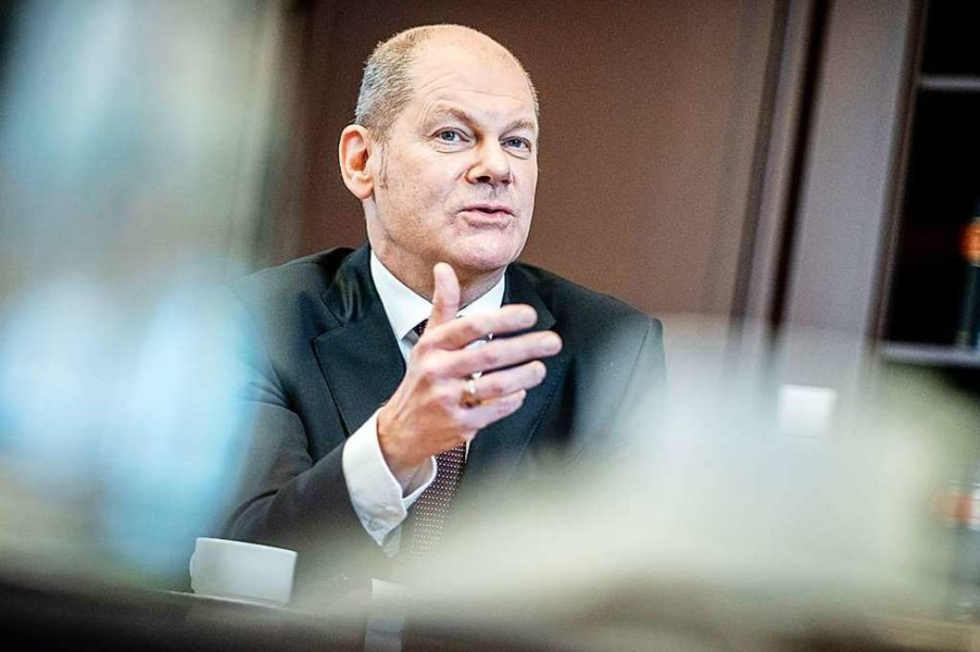 Bundesfinanzminister Olaf Scholz (SPD)  | Foto: Kay Nietfeld (dpa)