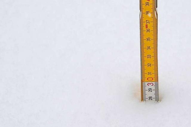So viel Winter wie selten im Markgräflerland