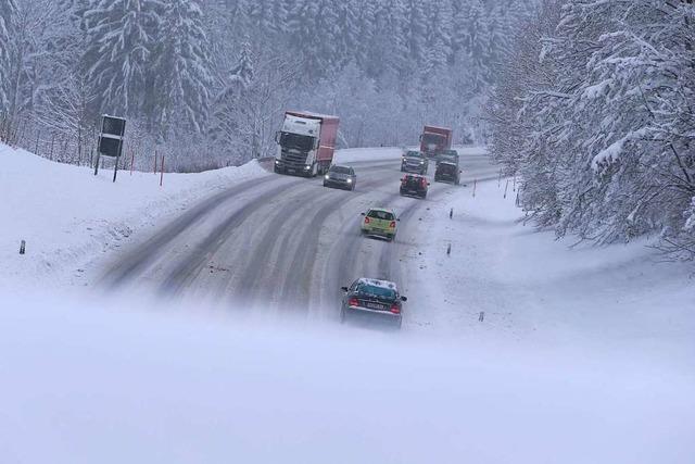 Sperrung der B316 führt zu Verkehrsbehinderungen im Kreis Lörrach
